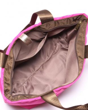 ベンガリーローズ*ココア ナイロン折りたたみA4ハンドバッグを見る