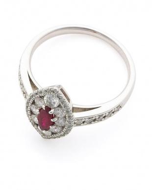 プラチナ PT900 ピジョンブラッドルビー (0.30ctUP)ダイヤモンド(0.70ct)リングを見る