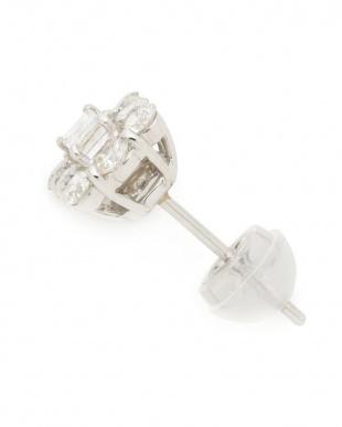 プラチナ PT900 ダイヤモンド(1.0ct)ピアスを見る