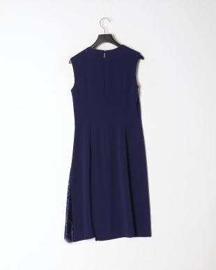 ブルー リバーレースコンビ ドレスを見る