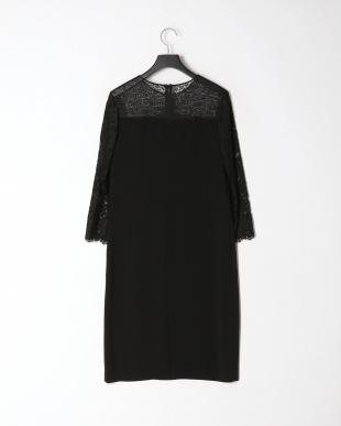 ブラック フィオーレリバーレース ドレスを見る