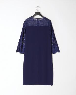 ブルー フィオーレリバーレース ドレスを見る
