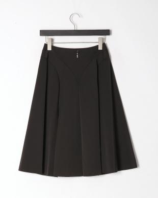 ブラック メタリックメモリータフタスカートを見る