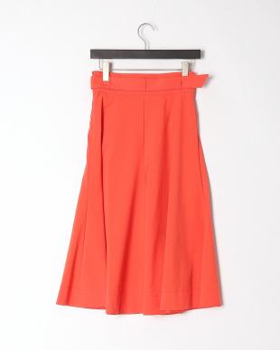 オレンジ ドビーオックス スカートを見る