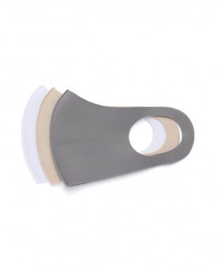 ホワイト・ベージュ・グレー 保湿フィットマスク3色12枚組を見る