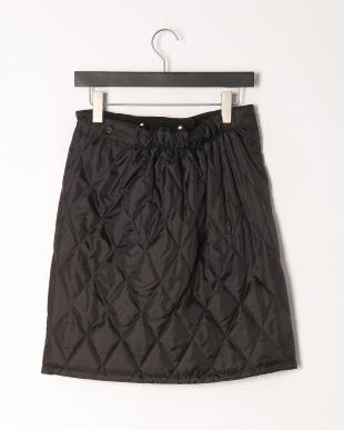 ブラック 裏ボアあったか巻ハーフスカートを見る
