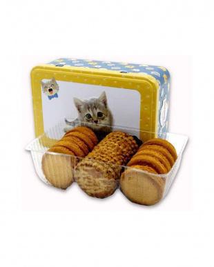 ラ・トリニテーヌ クッキー詰め合わせ アニマル缶/キャッツ・イエローを見る