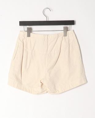 オフホワイト 刺繍柄製品染 パンツを見る