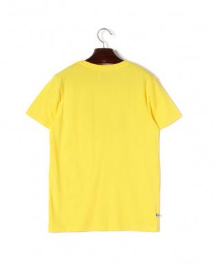 イエロー WAIT プリント クルーネック 半袖Tシャツを見る