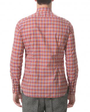 ブラウンチェック Danolis チェック 長袖シャツを見る