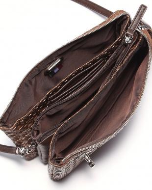 ブロンズ フレンチファブリック SAFECO クロスメッシュお財布ショルダーバッグを見る