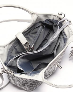 シルバー フレンチファブリック SAFECO クロスメッシュ2wayトートバッグを見る