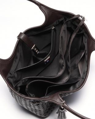 ブラック フレンチファブリック SAFECO クロスメッシュトートバッグを見る