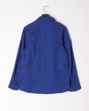 BLUE  綿麻ストレッチサイクルジャケットを見る