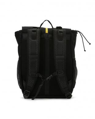 ブラック Split-top Messenger Backpack バックパックを見る