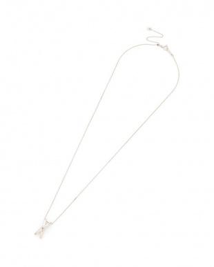 プラチナ PT900 ピンクダイヤモンド ネックレスを見る
