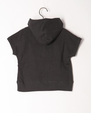 ブラック フード付きTシャツを見る