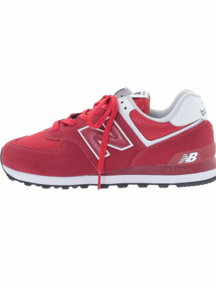 レッド NEW BALANCE ML574SSO a.v.v HOMMEを見る