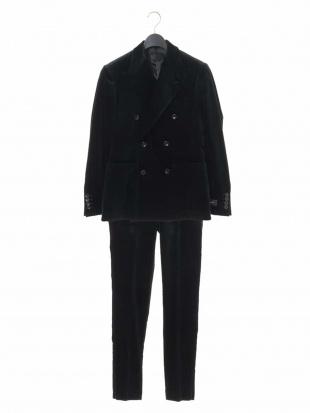 ブラック スーツ(Pontoglio VELLUTO) MICHEL KLEIN HOMMEを見る