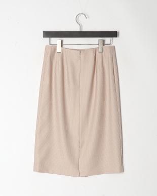 ピンク ドビーダイヤパー スカートを見る