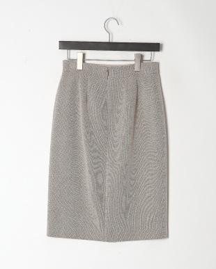 ベージュ メランジバスケット スカートを見る