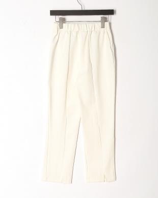 91/無彩色B(オフホワイト) センターライン美脚パンツを見る