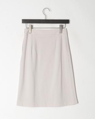グレー 《洗える》ポンチタイトスカートを見る