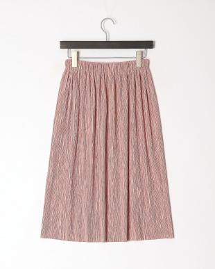 ピンク シャーリングスカートを見る