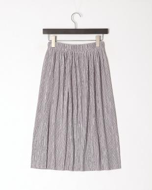 ライトグレー シャーリングスカートを見る