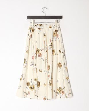 オフ 花柄スカートを見る