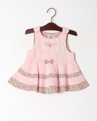 ピンク シャンブレーミルキースーツを見る