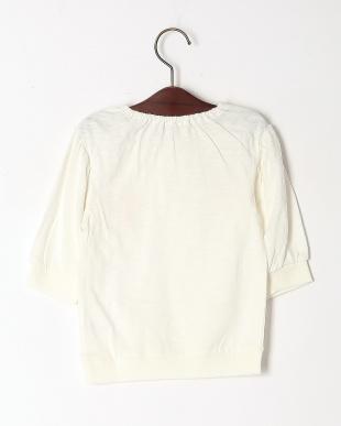 アイボリー ストロベリープリント七分袖Tシャツを見る