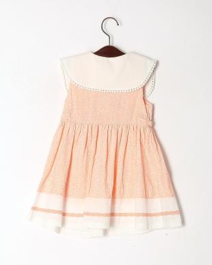 ピンク パステルフラワージャンパースカートを見る