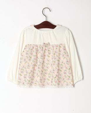 ピンク マーガレットTシャツを見る