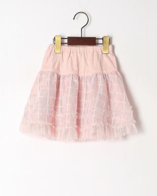 ピンク リバーシブルスカートを見る