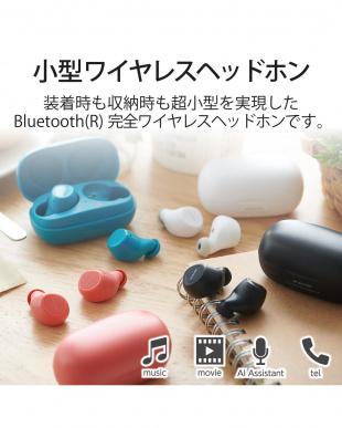 レッド 「Bluetoothイヤホン」 トゥルーワイヤレス/超小型/耳にフィットを見る