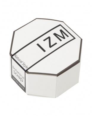 『IZM ボタニカルソープ』 100g(泡立てネット付) 2個セット−豊かな泡立ちで毛穴の黒ずみ、お肌のざらつきが気になる方にオススメ−を見る