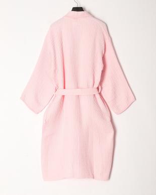 ピンク 軽量糸ワッフルヘチマローブを見る