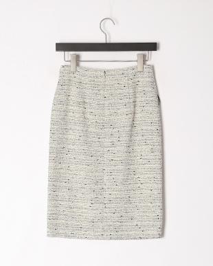 黒系 T/Cファンシーツィードスカートを見る