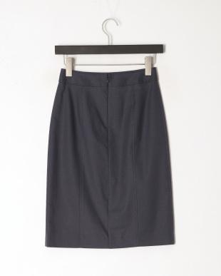紺 クールマックスドビーストレッチスカートを見る