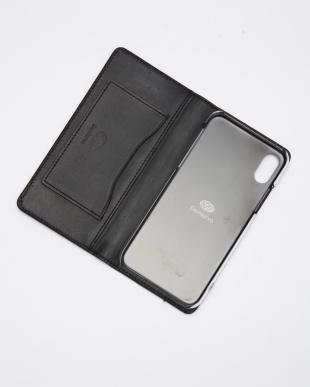 ブラック SILVER925 PEBBLY/iPhoneXS/X/ブラック SILVER925/クリアケースを見る