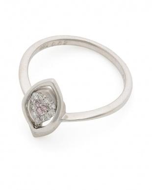 プラチナ PT900 ピンクダイヤモンド(0.02ct) ダイヤモンド(0.09ct)リングを見る