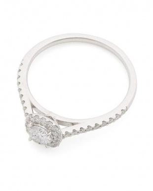プラチナ PT900 ダイヤモンド (センター0.30ct/メレダイヤ0.22ct)リングを見る