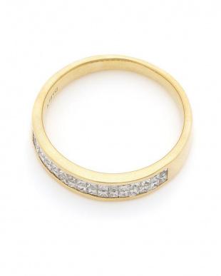 イエローゴールド K18YG ダイヤモンド(0.54ct) リングを見る