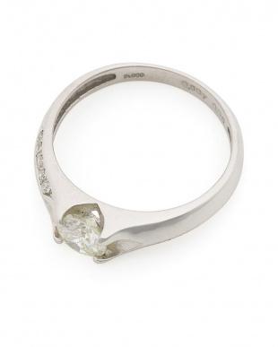 プラチナ PT900 ダイヤモンド (センター0.50ct/メレダイヤ0.05ct)リングを見る