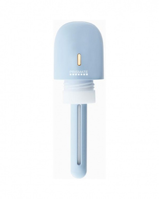 スカイブルー/ホワイト 充電式ポータブル加湿器  2個セットを見る