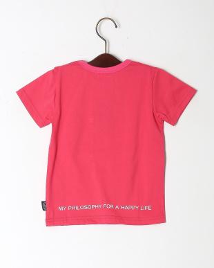ピンク ミリタリーポケットTシャツを見る