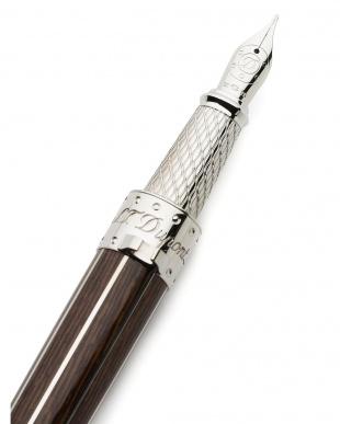 ブラウン×シルバー 万年筆を見る