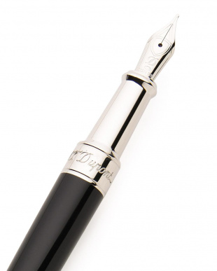 ブラック/シルバー NEW LINE D PEN 万年筆を見る