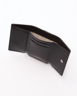 ブラック ホースレザー 三つ折り財布を見る